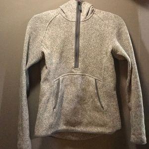 Lululemon fleece half zip hoodie!